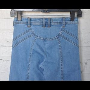 Free people jeans size 27, women's 70's styled